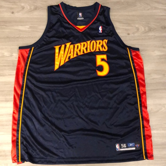da96f8802 adidas Other - Baron Davis warriors road jersey